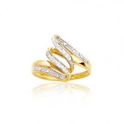 Bague en or 18 carats et diamant - Mirages