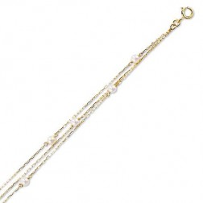 Bracelet de perles de culture en or pour femme, Finesse - Lyn&Or Bijoux