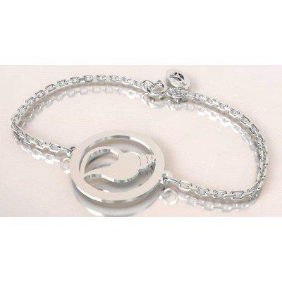 Bracelet de créateur en argent pour femme - Coquillage - Lyn&Or Bijoux