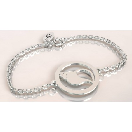 Bracelet créateur original mixte Coquillage argent