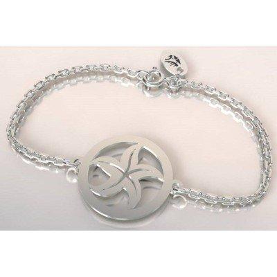 Bracelet de créateur en argent pour femme - Etoile de Mer - Lyn&Or Bijoux