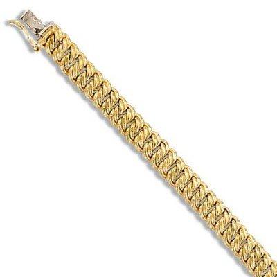 Bracelet américain en or pour femme - Or Pur - Lyn&Or Bijoux