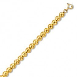 Gourmette or jaune 18 carats pour femme, Gold Pearl