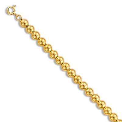 Bracelet de perles en or 18 carats pour femme - Gold pearl - Lyn&Or Bijoux