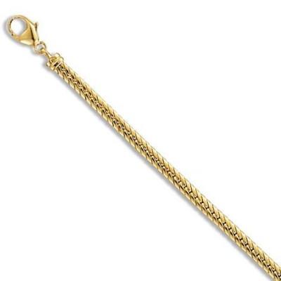 Gourmette en or 18 carats pour femme - Mouvance - Lyn&Or Bijoux