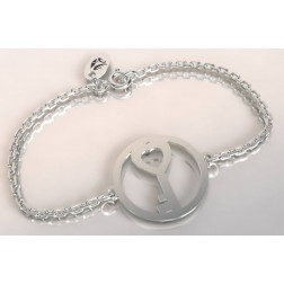 Bracelet de créateur en argent - Clé