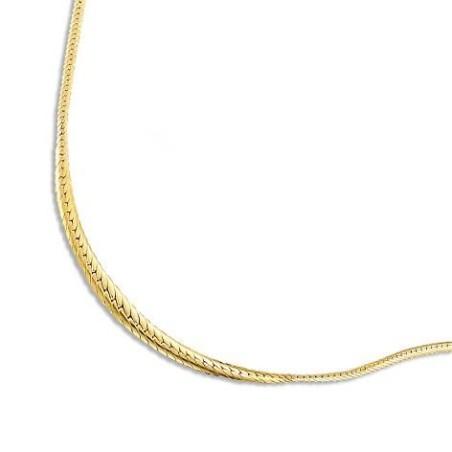 Collier or jaune 18 carats pour femme, Mouvance