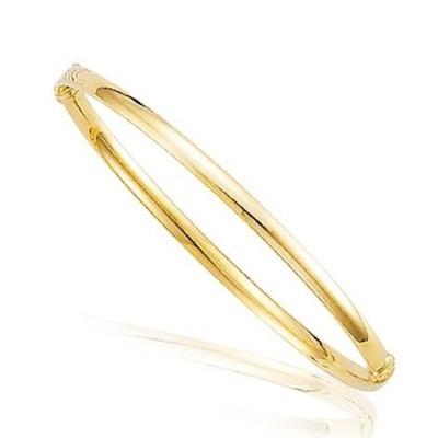 Bracelet jonc pour femme en or 18 carats - Eve - Lyn&Or Bijoux