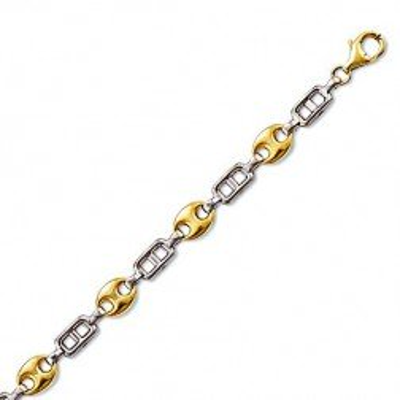Bracelet en or deux tons 18 carats pour femme - Inspiration - Lyn&Or Bijoux