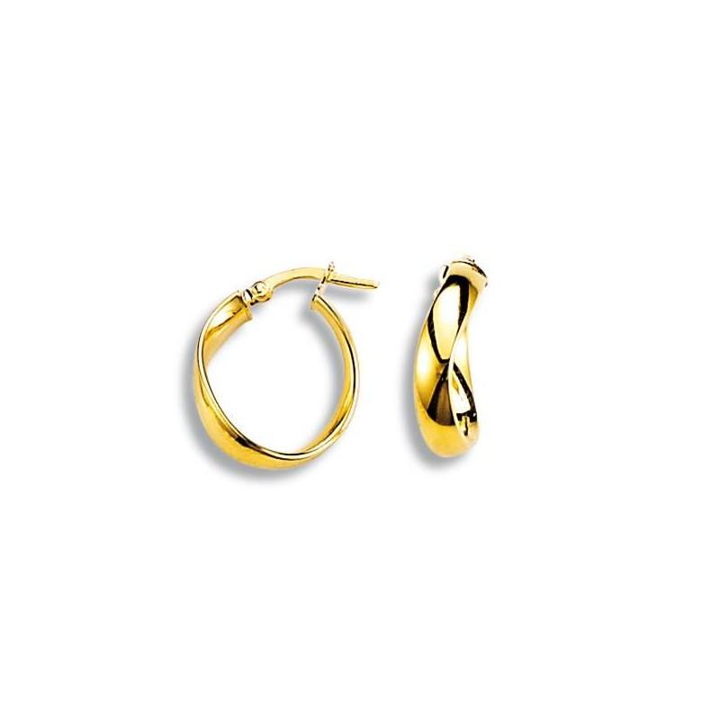 boucles d'oreilles originales en or