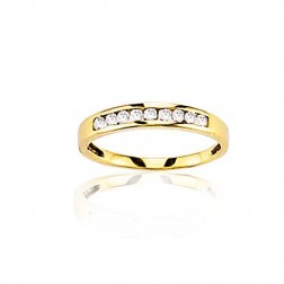 Bague mariage pour femme or 18 carats, Je te veux