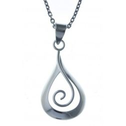 Collier argent 925/1000 pour femme, Silly