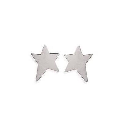 Boucles d'oreilles avec motif étoiles en argent pour femme