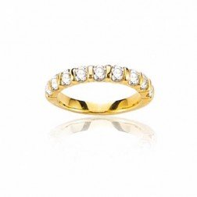 Alliance pour femme en or jaune & diamants - La Croisette - Lyn&Or Bijoux