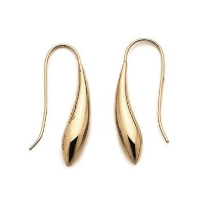 Boucles d'oreilles originales en plaqué or pour femme, Talita