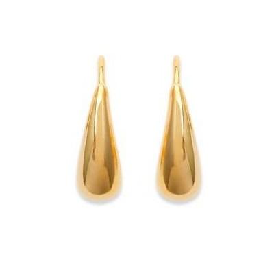 Boucles d'oreilles fantaisie en plaqué or pour femme