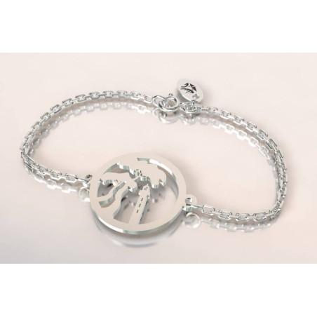Bracelet de créateur en argent - Pin Parasol