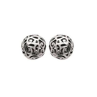 Boucles d'oreille Perle en argent - Shaïma - Lyn&Or Bijoux