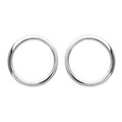 Boucles d'oreilles Cercle en argent pour femme