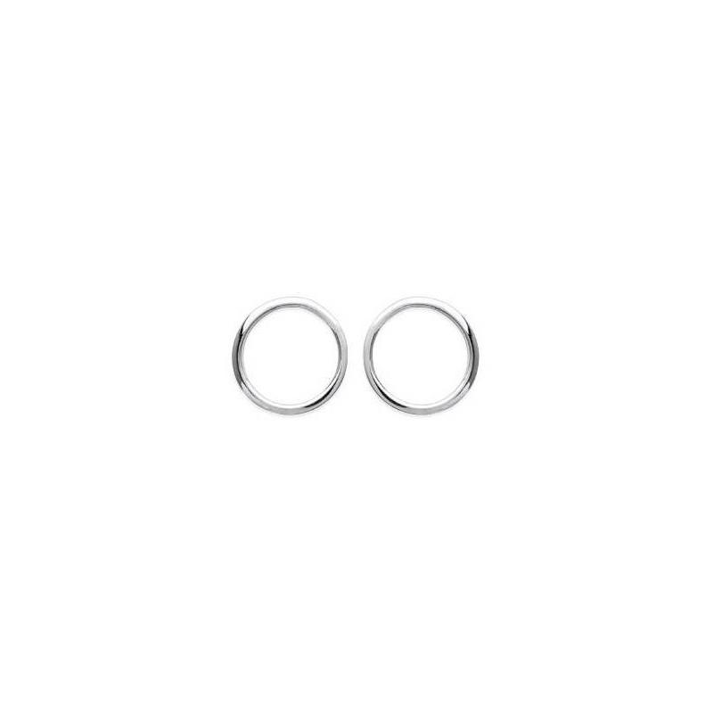Boucles d'oreilles Cercle en argent 925 millièmes pour femme