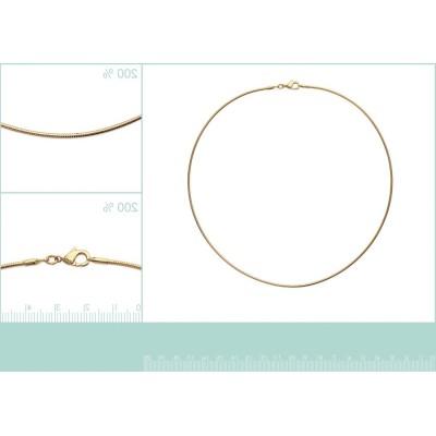 Collier câble ras-de-cou rigide en plaqué or pour femme, 1,6 mm