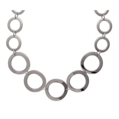 Collier en acier pour femme - Kyral - Lyn&Or Bijoux
