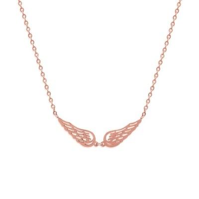 Collier en acier rose pour femme - Sylvia - Lyn&Or Bijoux