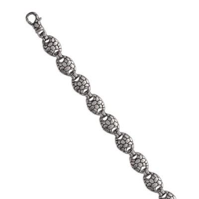 Bracelet en acier gris pour femme, Honyma