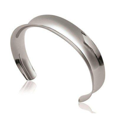 Bracelet jonc en acier pour femme - Vienna - Lyn&Or Bijoux