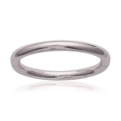 Bracelet rigide ouvert rigide pour femme en acier, Séville