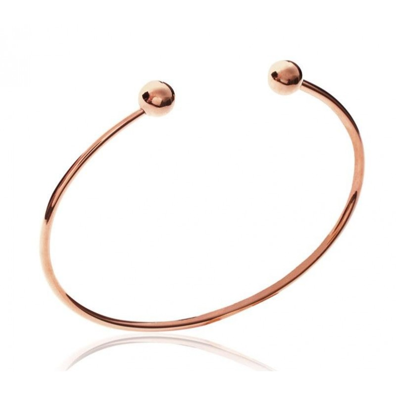 bracelet femme acier rose