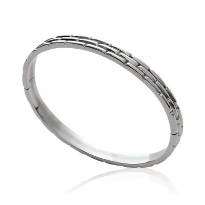 Bracelet jonc en acier pour femme - Kafalla - Lyn&Or Bijoux