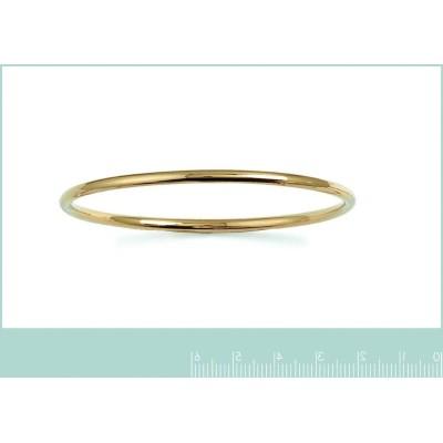 Bracelet jonc en plaqué or jaune pour femme, Esmeralda 1