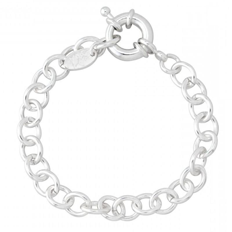 bracelet argent femme charms