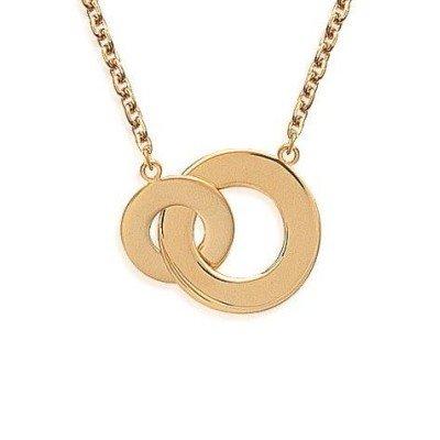 Collier en plaqué or pour femme - Adeva - Lyn&Or Bijoux