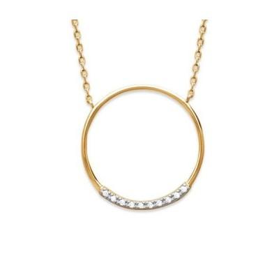 Collier pour femme en plaqué or et zircon - Manille - Lyn&Or Bijoux
