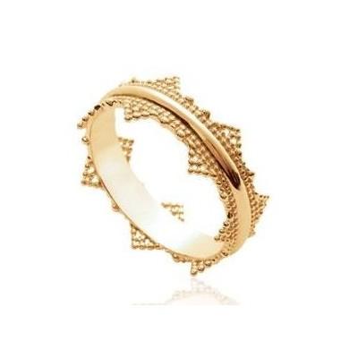 Bague en plaqué or pour femme - Voyage - Lyn&Or Bijoux
