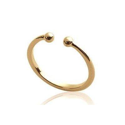 Bague ouverte en plaqué or pour femme - Cybelle - Lyn&Or Bijoux