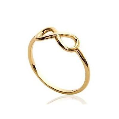 Bague Infini en plaqué or, Morgane - Bijoux femme