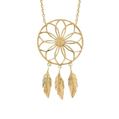 collier pour femme attrape-rêve en plaqué or, Sybille - Bijoux femme