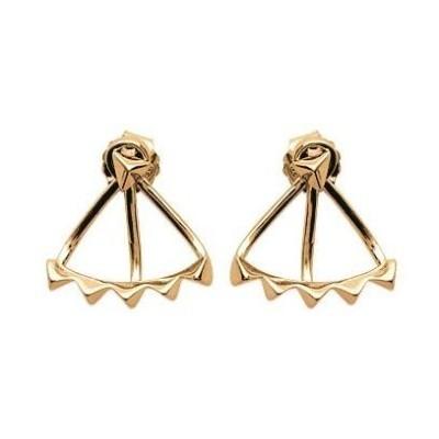 Boucles d'oreilles tendance pour femme en plaqué or, Mybelle