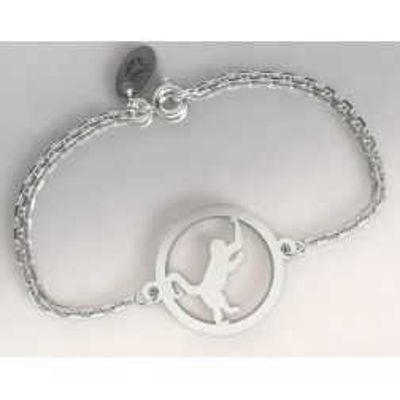 Bracelet pour femme en argent 925 - Singe - Lyn&Or Bijoux
