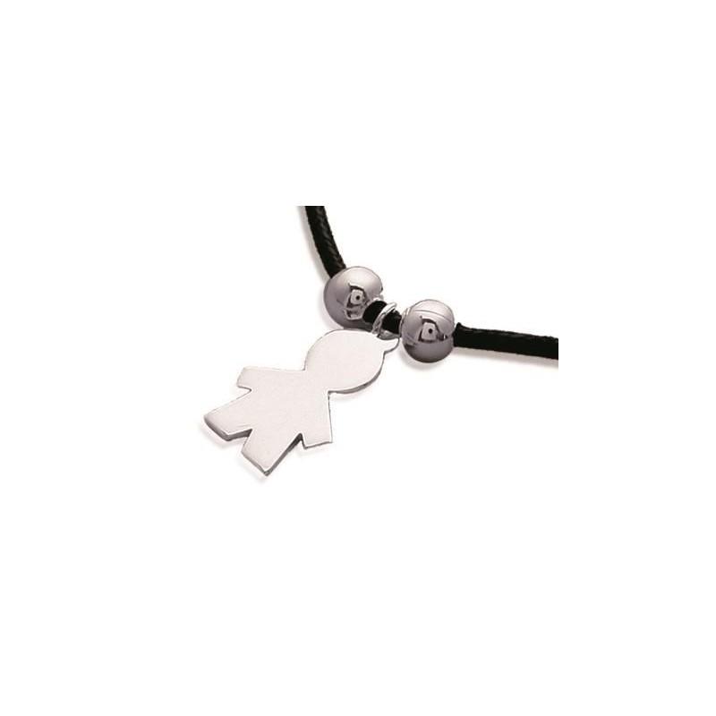 achat le plus récent la qualité d'abord en ligne ici Bracelet cordon pour enfant en argent - Garçon