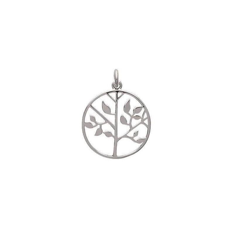 Pendentif femme arbre de vie en argent - Bijoux femme