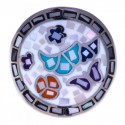 Bague nacre pour femme en acier: bijou créateur Odena!