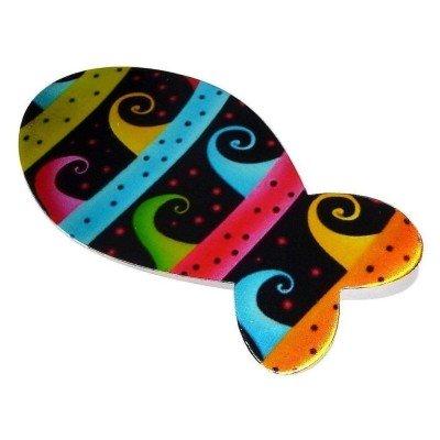Broche fantaisie multicolore pour femme - Poisson - Lyn&Or Bijoux