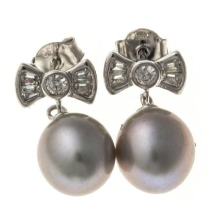 Boucles d'oreilles perles - Nyma