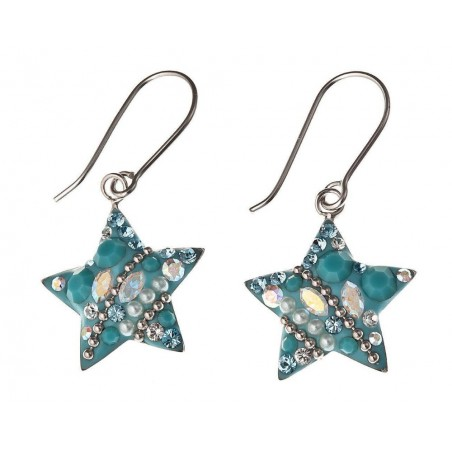 Boucles d'oreilles en argent 925 - Starlet
