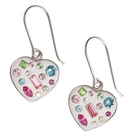 Boucles d'oreilles Coeur en argent 925 - Quiero