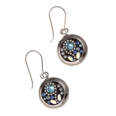 Boucles d'oreilles cristal de Swarovski - Mambo